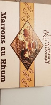Marrons au rhum - Product - fr
