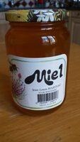 Miel mis en pot par l'apiculteur - Product