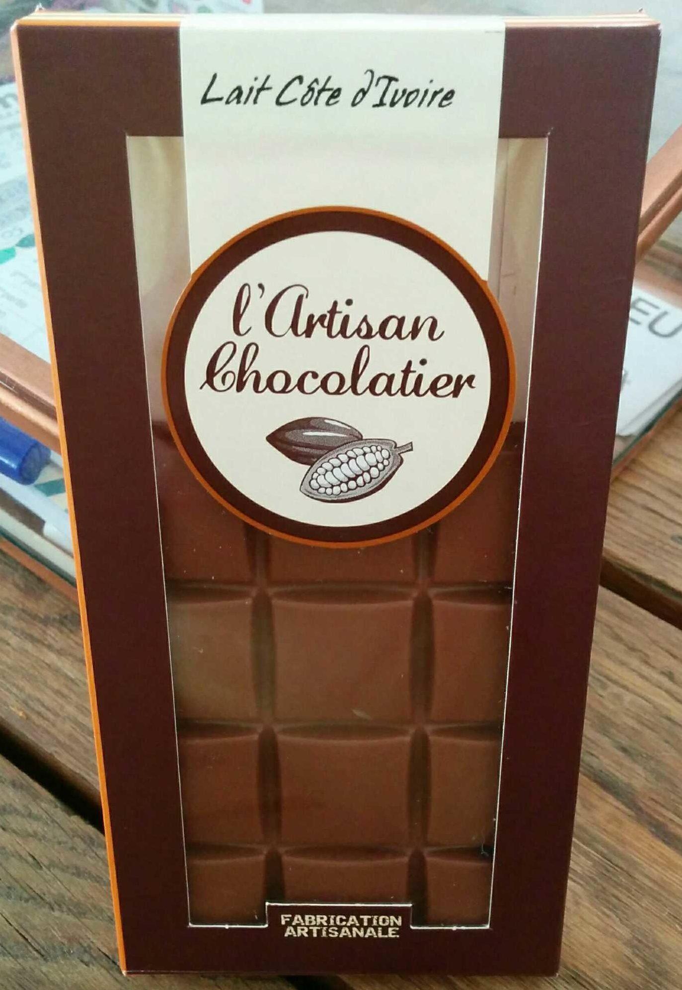 Chocolat Lait Côte d'Ivoire - Produit - fr