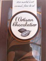 Noir Marbré Lait caramel Fleur de Sel - Product - fr
