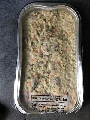 Risotto crémeux végétarien - Produit - fr