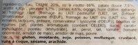 Risotto crémeux légumes et champignons - Ingrédients - fr