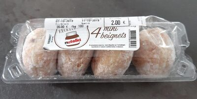 4 mini beignets - Product - fr