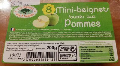 Mini-beignets fourrés aux pommes - Product - fr