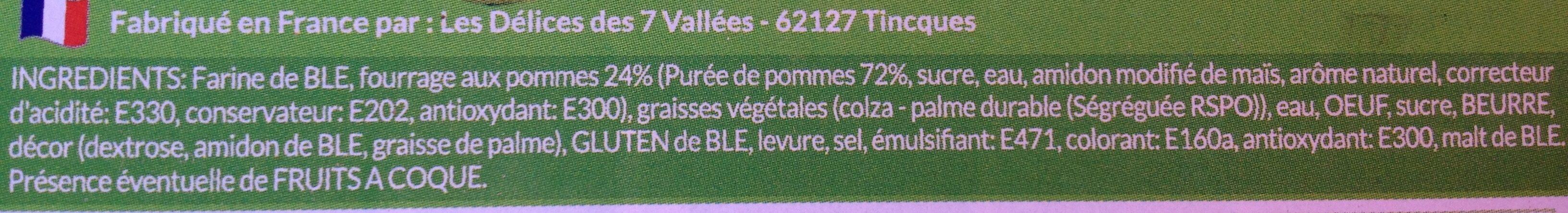 Mini-beignets fourrés aux pommes - Ingrediënten - fr