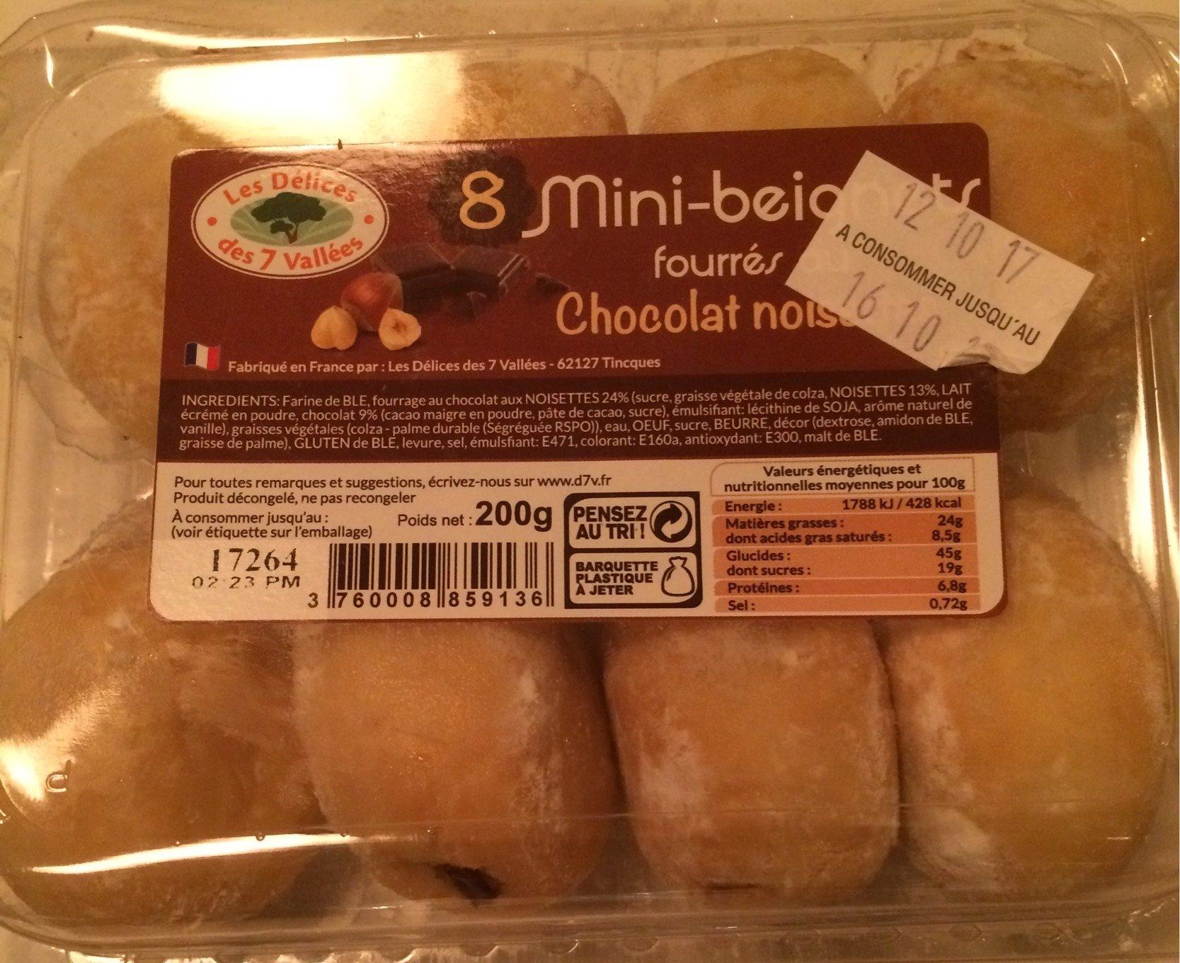 Mini beignets Chocolat noisettes - Product