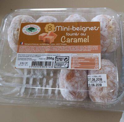 Mini beignets fourrés au caramel - Prodotto - fr