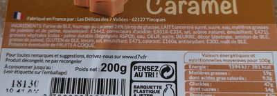 Mini beignets fourrés au caramel - Ingredienti - fr
