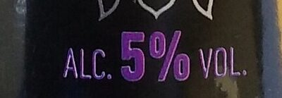 Bière blanche aromatisée Myrtille - Nutrition facts - fr