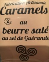 Caramels au beurre salé au sel de Guérande - Product