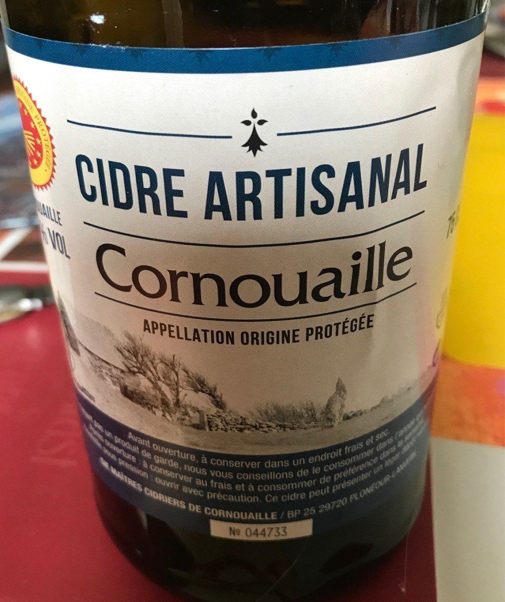 Cidre artisanal - Produit