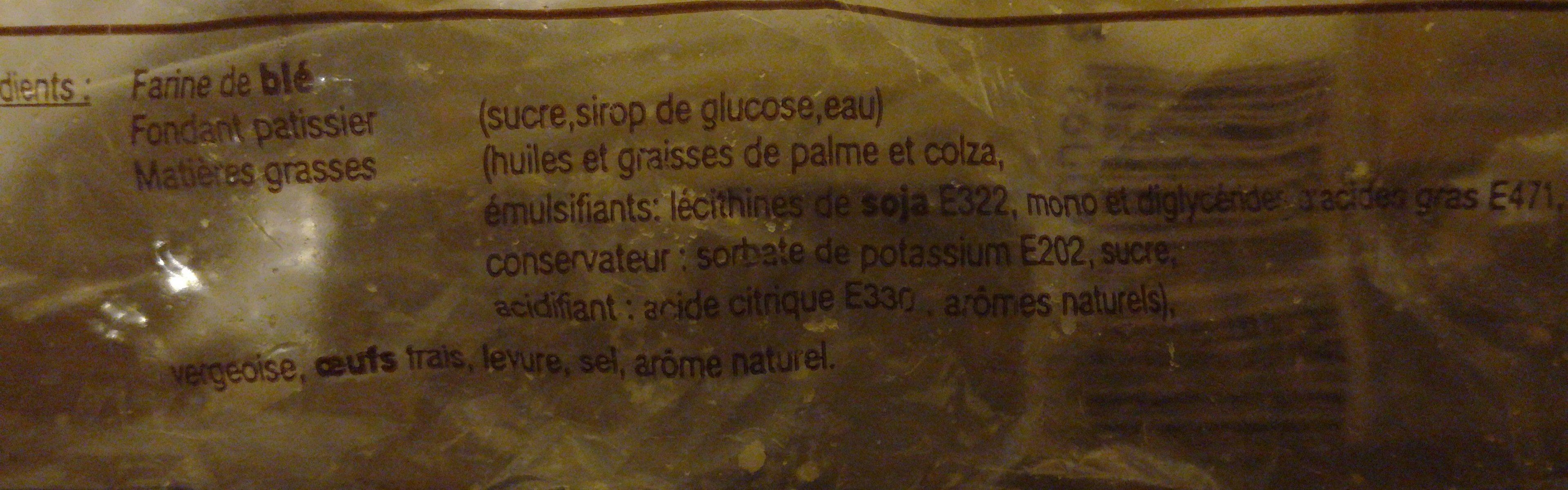 La gaufre du Nord - Ingredients - fr