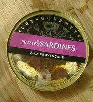 Les petites sardines à la provençale - Produit - fr