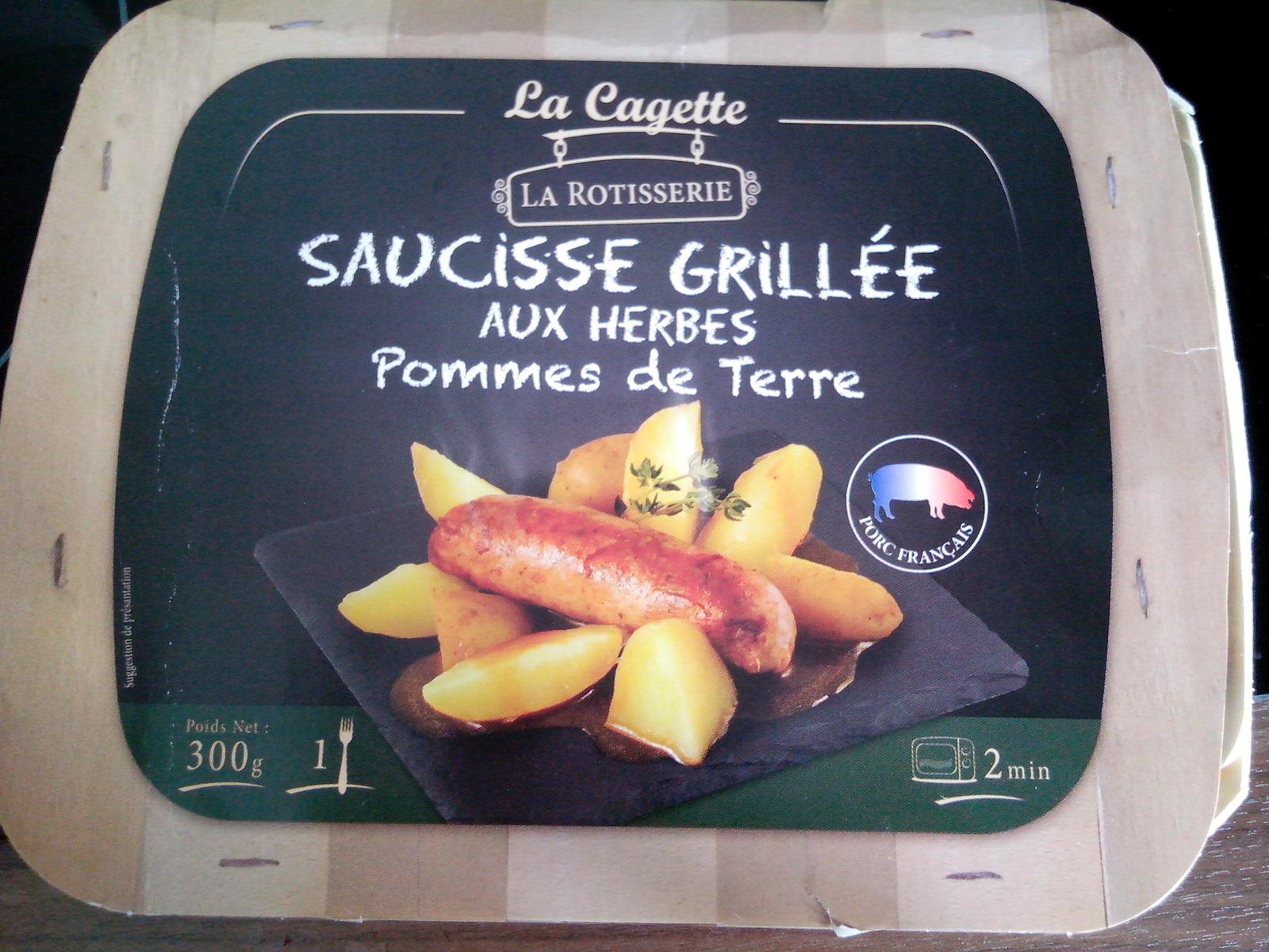 Saucisses grillées aux herbes pommes de terre - Product - fr