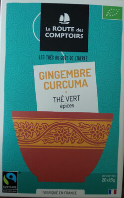 Thé vert gingembre curcuma - Product - fr