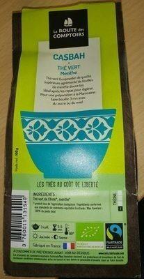 Casbah Thé vert menthe - Product - fr