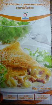 10 crêpes gourmandes tartiflette - Produit - fr