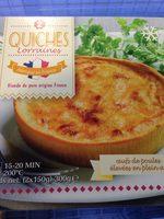 2 Quiches Lorraines - Produit - fr