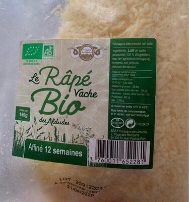 Râpé vache bio des aldudes - Prodotto - fr