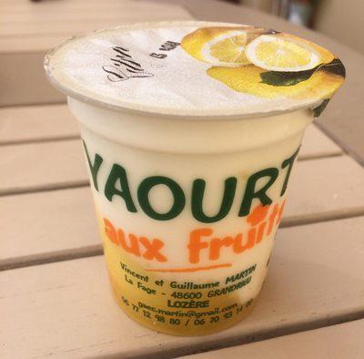 Yaourts Crémeux Aux Fruits - Product