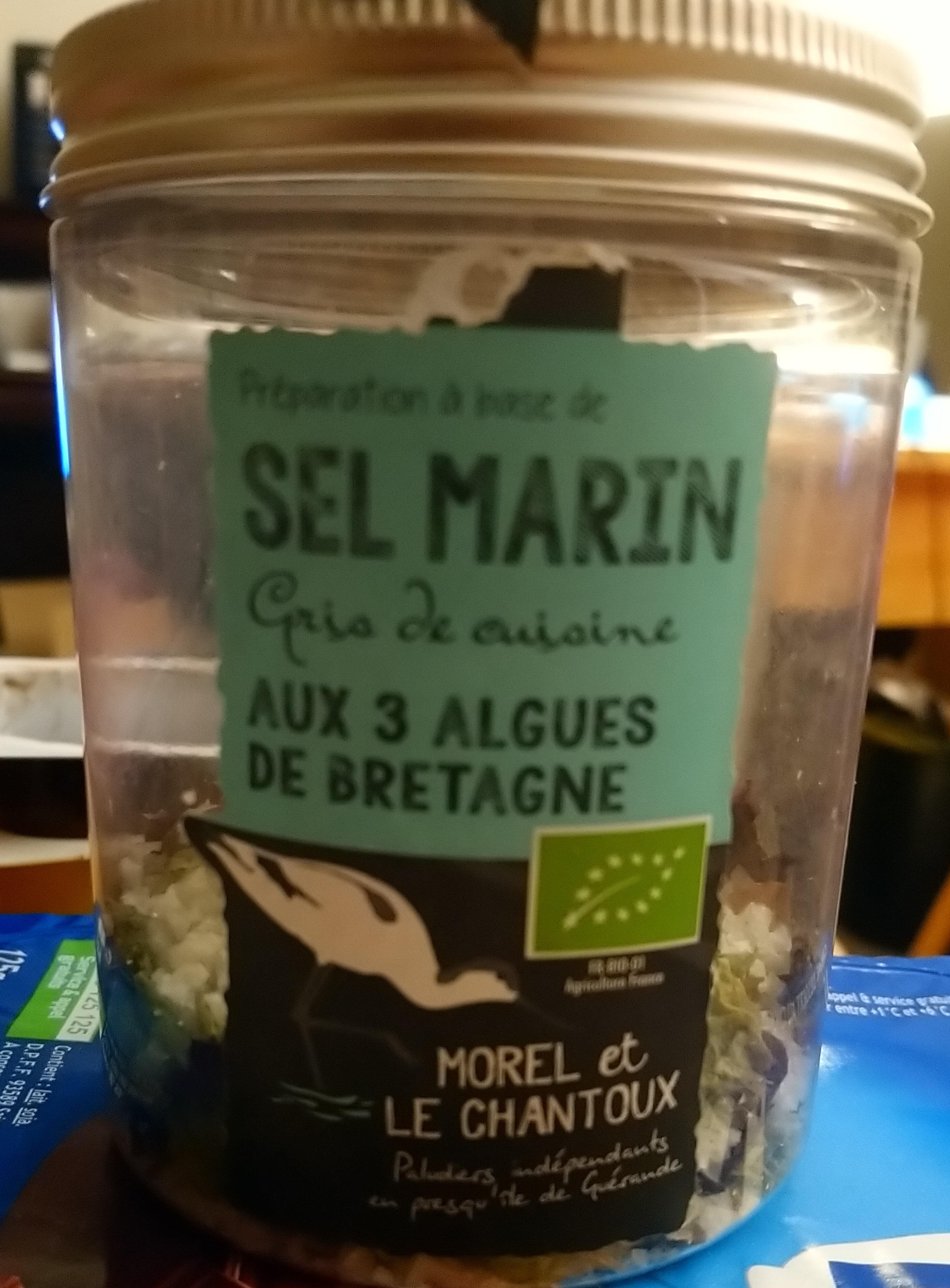 Preparation A Base De Sel Marin Gris De Cuisine Aux 3 Algues De