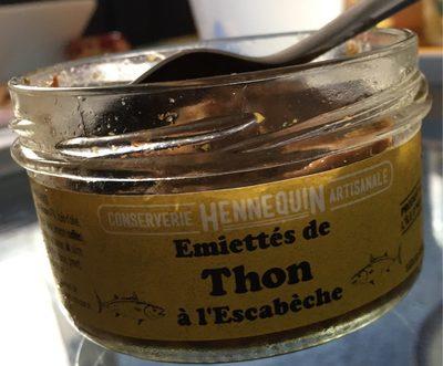Emiétté de thon à l'escabèche , 140g - Product - fr