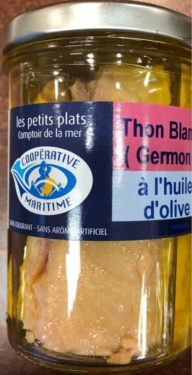 Thon Blanc à l'huile d'olive - Prodotto - fr