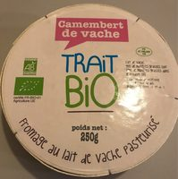 Camembert de vache - Product - fr