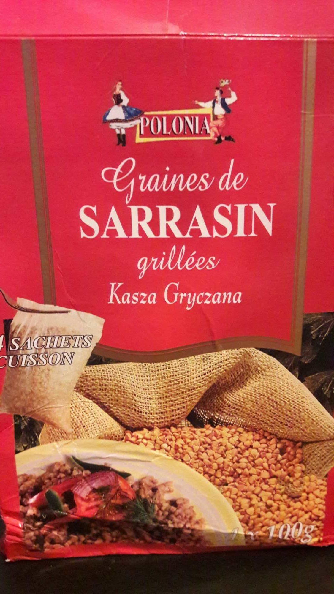 Graines de Sarrasin Grillées - Produit - fr