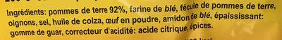 Plenze - Ingrédients - fr