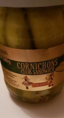 Cornichons club sandwich - Produit - fr