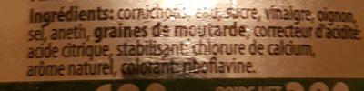 Cornichons club sandwich - Ingrédients - fr