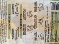 Penne rigate Maïs Riz Bambou - Inhaltsstoffe - fr