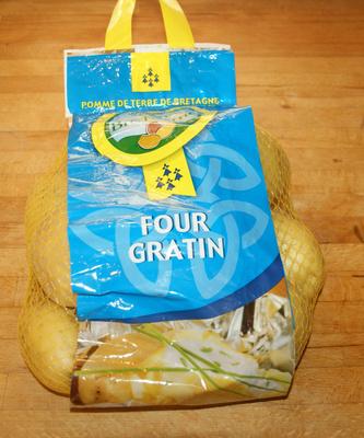 Pommes de terre de Bretagne (variété Agata) - Produit