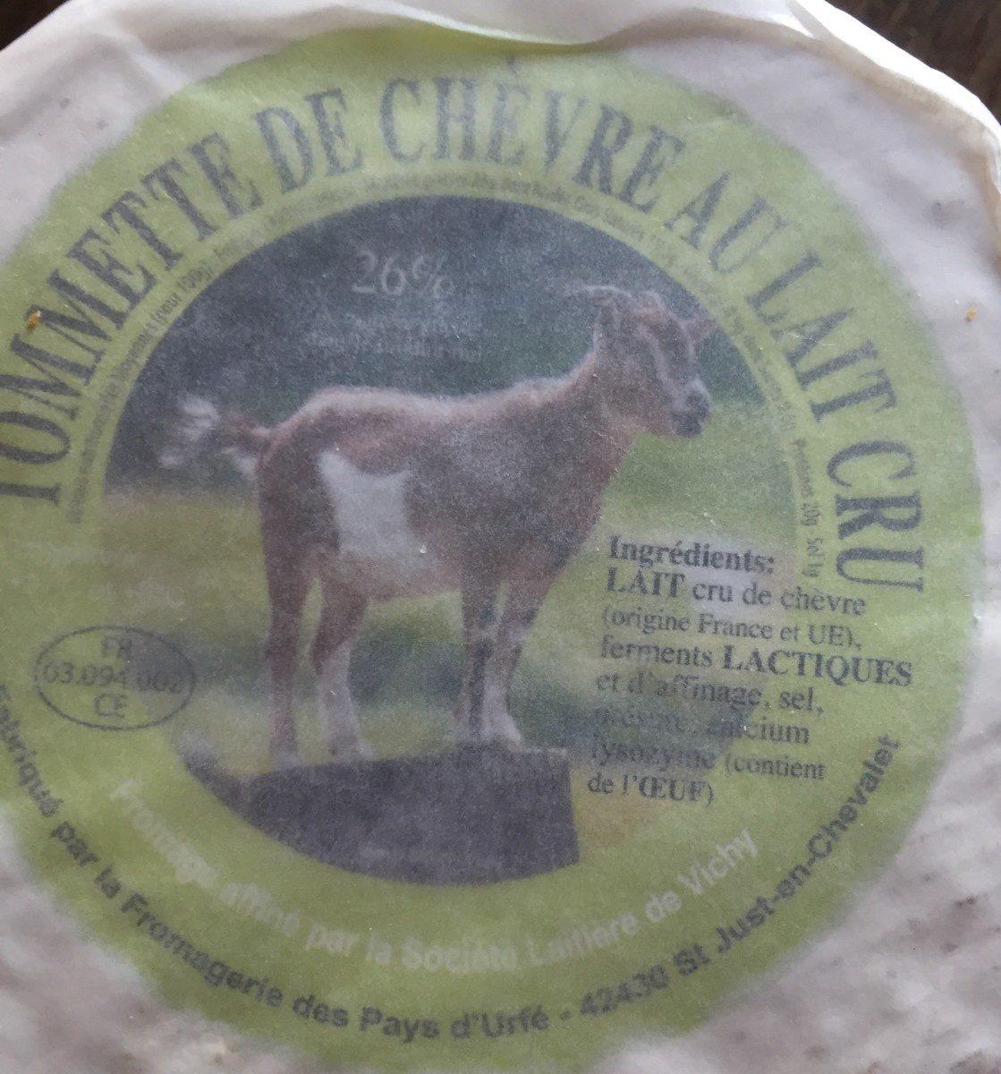 Tommette de chevre au lait cru - Produit - fr