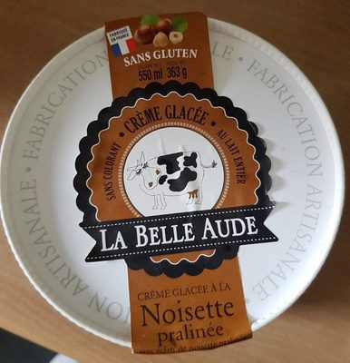 Crème glacée à la noisette - Produit - fr