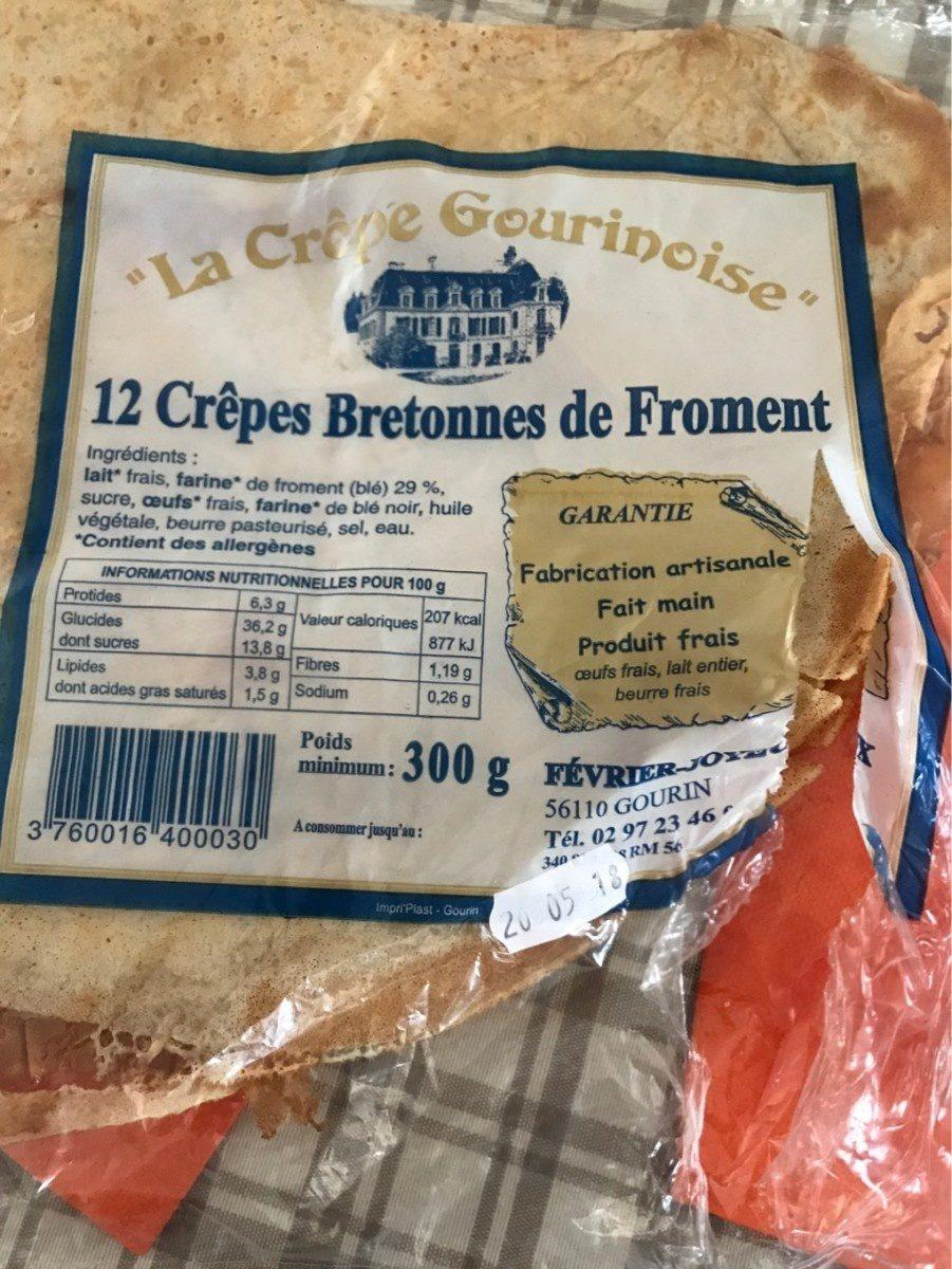 La crepe gourinoise - Produit - fr