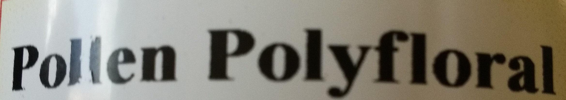 Pollen Polyfloral - Ingrédients - fr