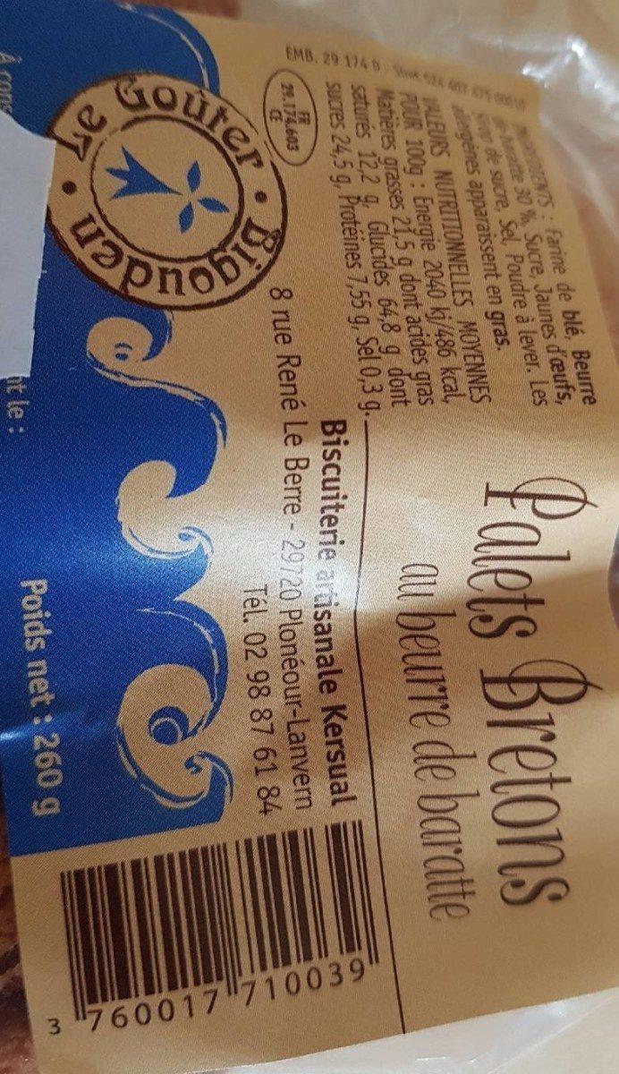 Palets Breton - Product - fr