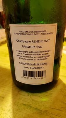 Champagne Rene Rutat - Producto