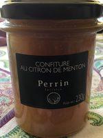 Confiture au citron de Menton - Product - fr