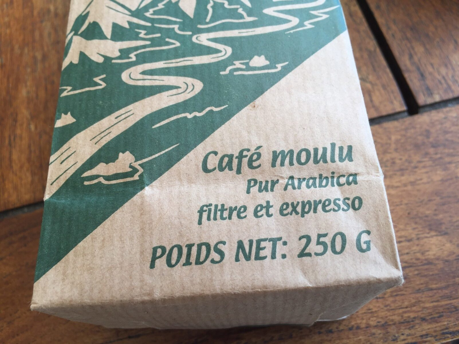 Cafe en poudre - Ingrédients - fr