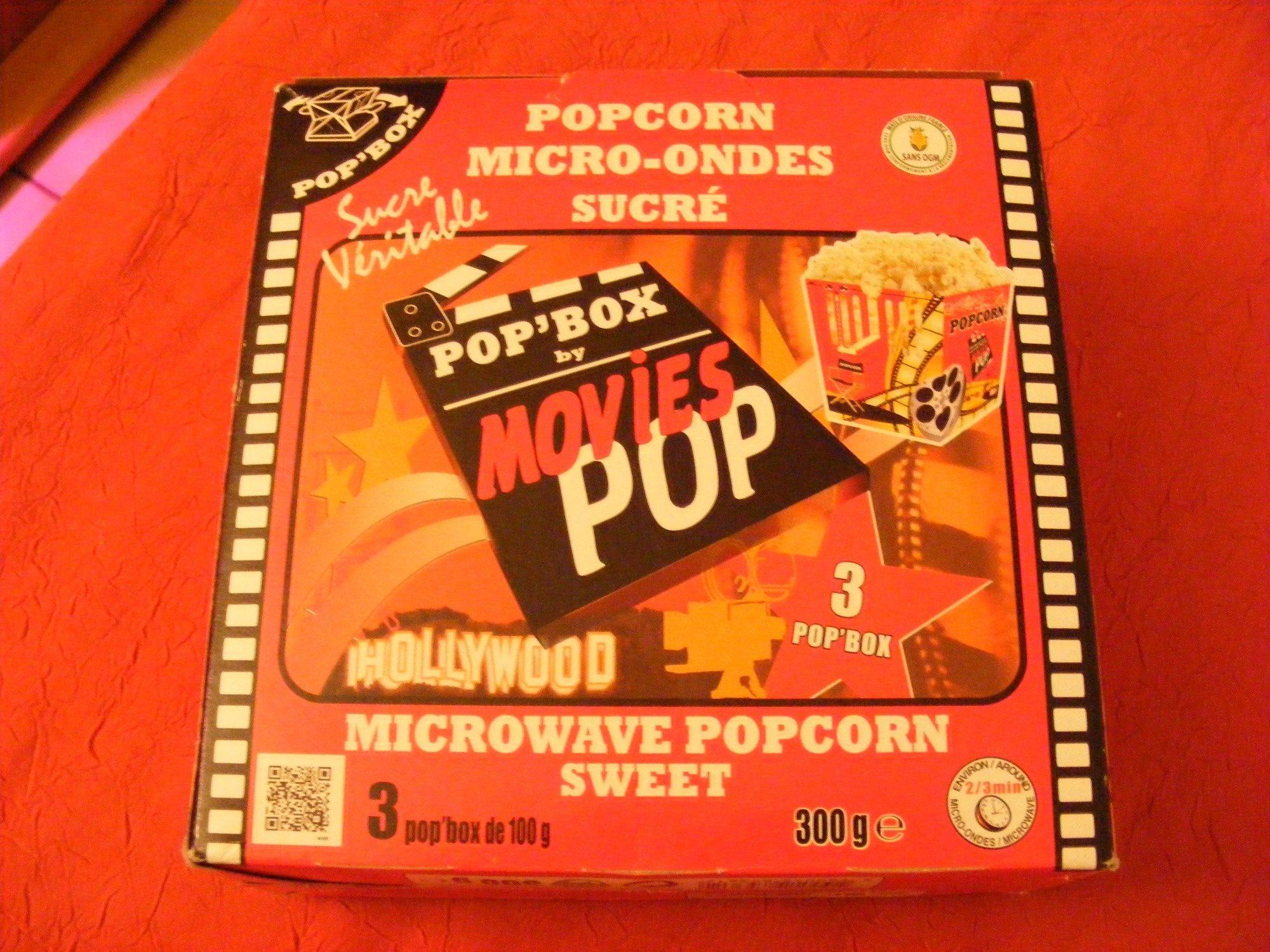 pop 39 box by movies pop sphere production 3 sachets de 100 g. Black Bedroom Furniture Sets. Home Design Ideas