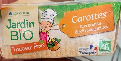 Carottes aux ecorces de citrons confites - Product