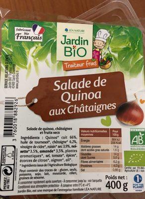 Salade de quinoa aux châtaignes - Produit - fr