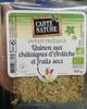 Instant Fraîcheur Quinoa aux châtaignes d'Ardèche et fruits secs -