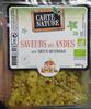 Saveurs des Andes aux deux quinoas - Produit