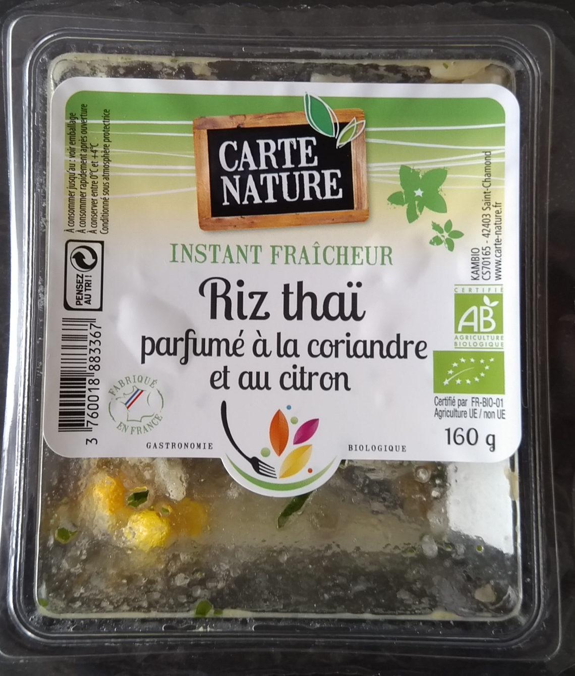 Riz thai parfumé au citron et à la coriandre - Product - fr