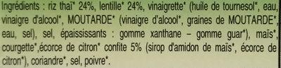 Riz thai parfumé au citron et à la coriandre - Ingredients - fr