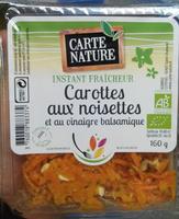 Carottes aux noisettes et au vinaigre balsamique - Produit - fr
